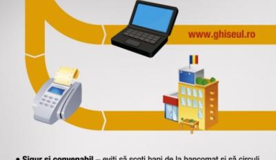 Plateste taxele si impozitele cu cardul in orice primarie care are instalat POS sau direct pe internet