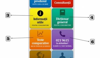 Aplicația InfoCons - Scanează Codul de Bare