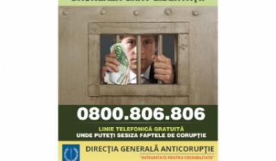 Linia Verde Anticoruptie - 0800 806 806