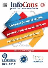 Safety Gate: Sistemul de alertă rapidă pentru produse nealimentare periculoase – raport săptămânal  10 -17.07.2020