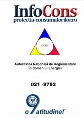 Telefonul consumatorului A.N.R.E. - 021 9782