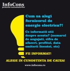 Ce stim despre furnizorul/distribuitorul de energie electrica?! Informeaza-te! Alege in cunostinta de cauza!