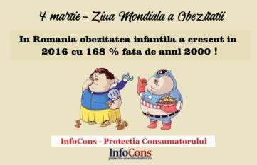 4 Martie - Ziua Mondiala a Obezitatii
