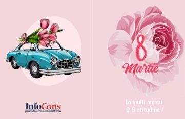 8 martie - Ziua Internaţională a Femeii