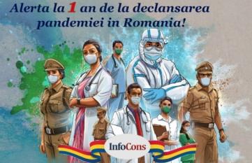 Alerta la 1 an de la declansarea pandemiei in Romania!  Atentie la sanatate si calitatea vietii!