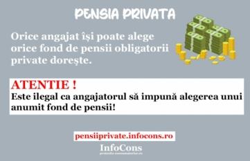 Alegerea fondului de pensii administrat privat