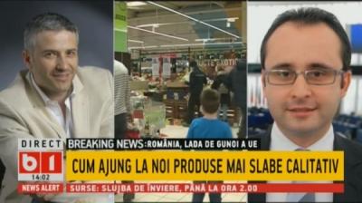 Sorin Mierlea, președintele InfoCons, în direct la B1TV