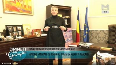 Președintele InfoCons, Sorin Mierlea,  la postul de televiziune Metropola TV