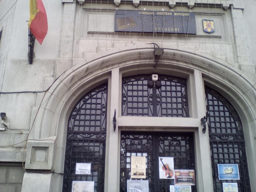 Biblioteca Judeteana Botosani, Localitatea Botosani InfoCons - Protectia Consumatorului