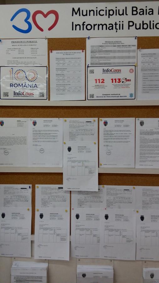 Primaria Municipiului Baia Mare, Judetul Maramures InfoCons - Protectia Consumatorului