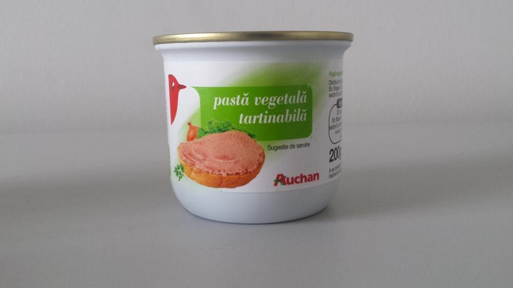 Auchan pasta vegetala tartinabila 200g