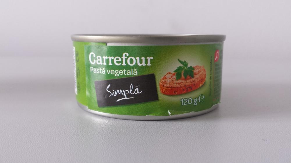 Carrefour pasta vegetala simpla 120g