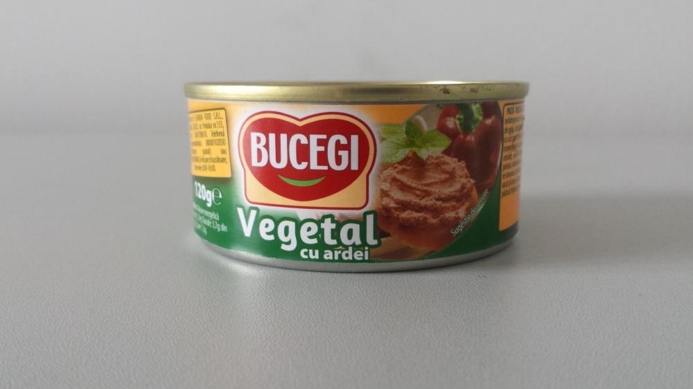 Bucegi pate vegetal cu ardei 120g