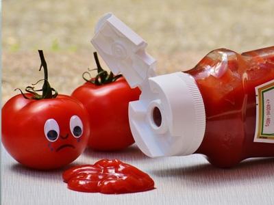 Bulion, paste de tomate si ketchup