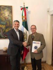 Președintele InfoCons, Sorin Mierlea, întâlnire cu Ambasadorul Statelor Unite Mexicane în România, Jose Guillermo Ordorica Robles