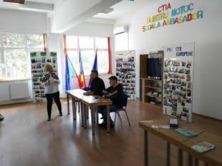 Acțiune de informare și educare - Colegiul Tehnic de Industrie Alimentară Dumitru Moțoc