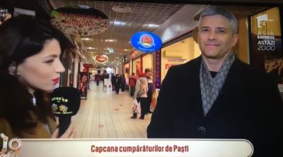 Domnul Sorin Mierlea a fost în direct la postul de televiziune Antena 1