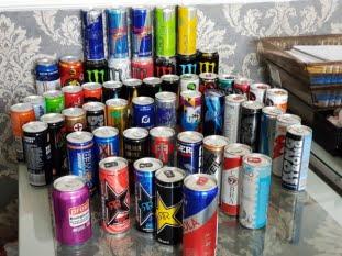 Băuturi energizante cu mai mulți aditivi - Studiu comparativ 2015 - 2018