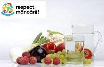 Risipa de alimente = Risipa de apă!