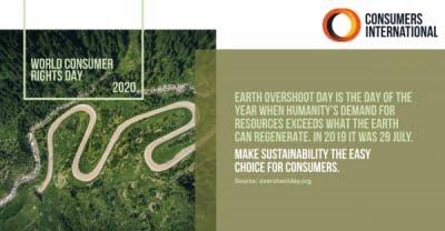 15 martie - Ziua Mondială a Drepturilor Consumatorilor - Consumatorul Sustenabil