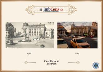Ieri și Azi - Piața Romană