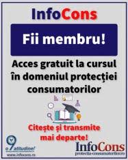 Fii membru! Acces gratuit la cursul vocational in domeniul protectiei consumatorilor!