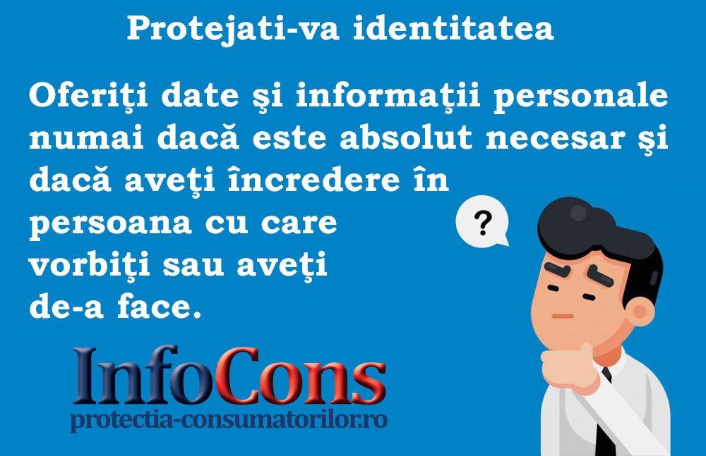 InfoCons - protectia consumatorilor - protectia consumatorului - protejati-va identitatea