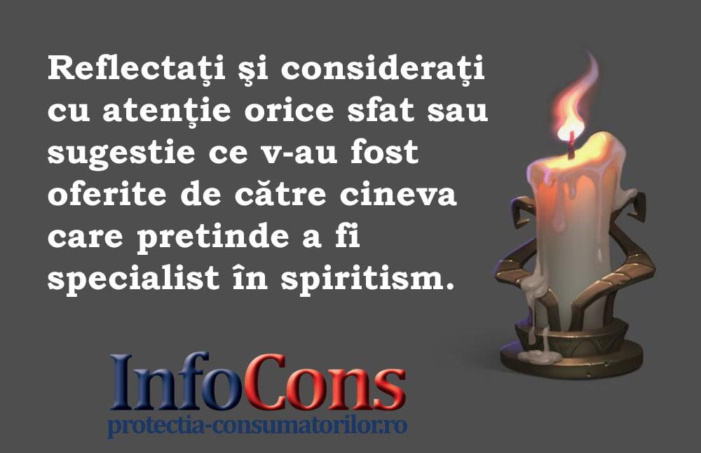 InfoCons - protectia consumatorilor - protectia consumatorului - spiritism
