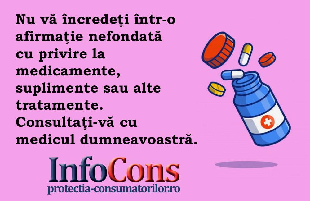 InfoCons - protectia consumatorilor - protectia consumatorului - suplimente sau tratamente