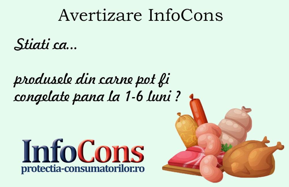 InfoCons - protectia consumatorilor protectia consumatorului - congelarea alimentelor