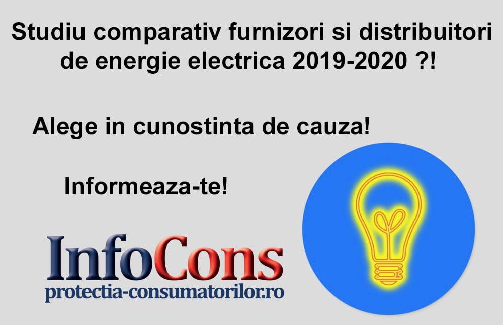 InfoCons - studiu energie electica