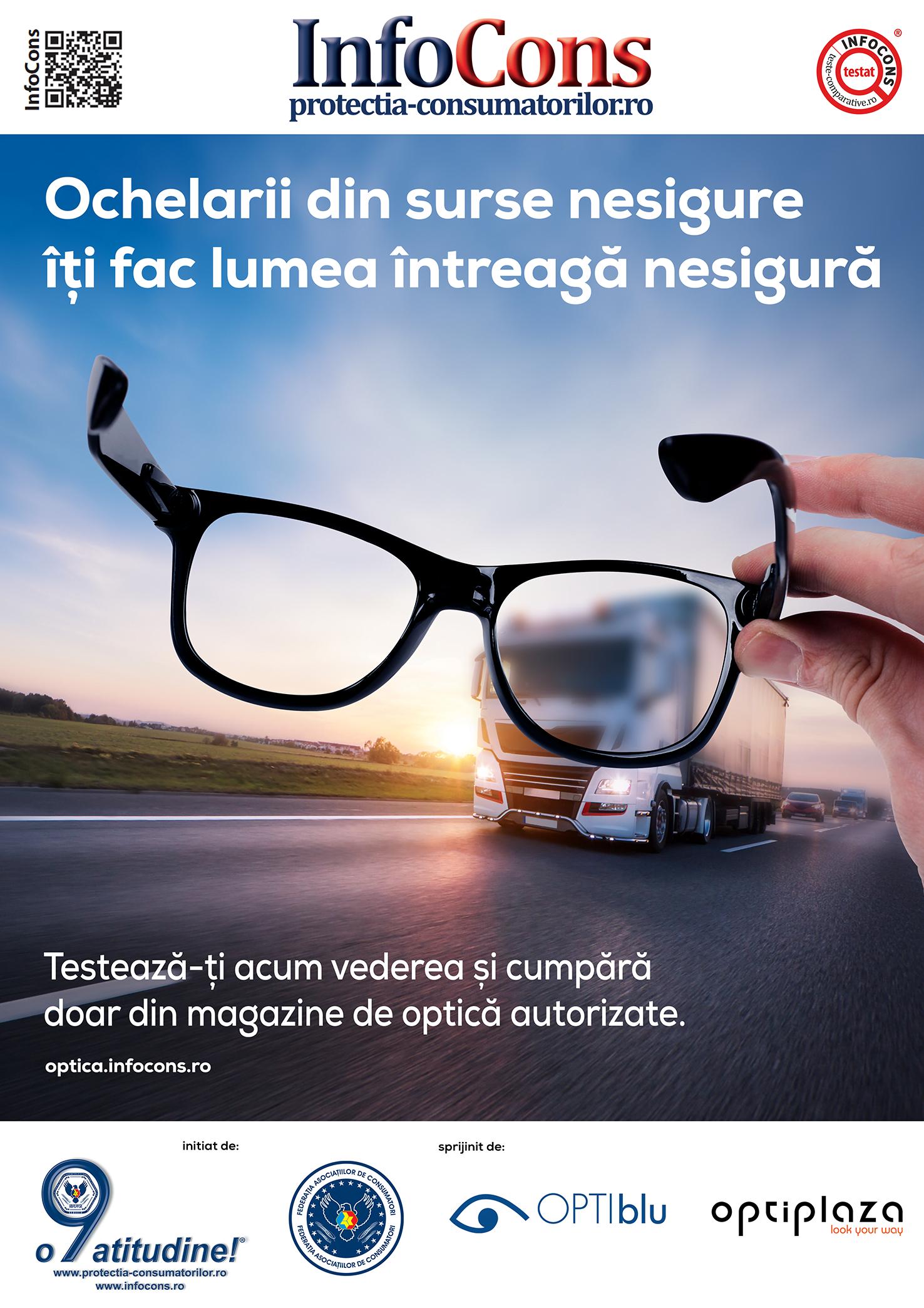 InfoCons - protectia cosnumatorilor protectia consumatorului - ochelarii