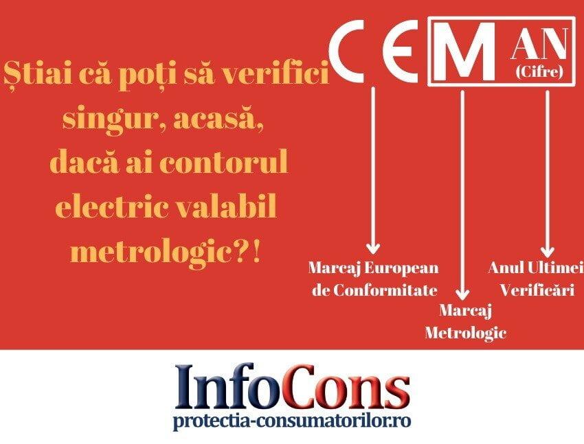 Contor electric InfoCons